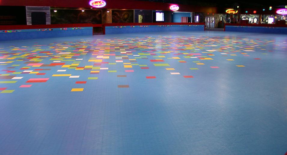 Skating Rinks - Skate court flooring