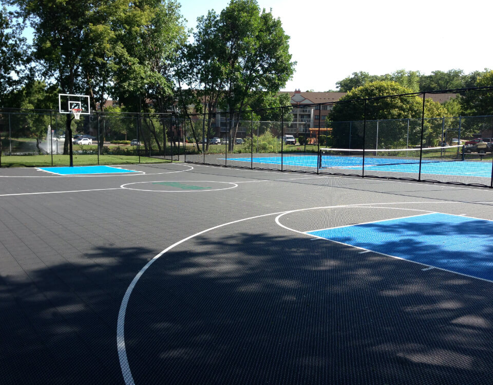 unique multi sport court spaces