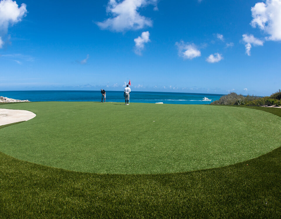 Over Yonder Cay - unique golf spaces