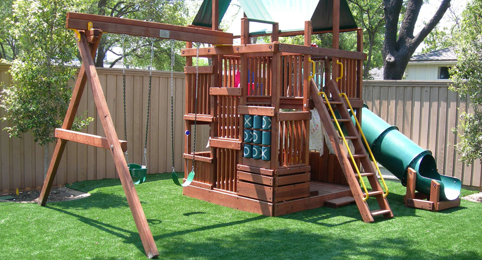 Synthetic Turf Playgrounds